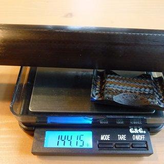 Gewicht Mcfk Sattelstütze Sattelstütze / Versatz 30.9 x 400mm
