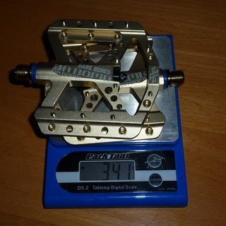 Gewicht Da Bomb Pedale (Platform) Bare Bones 105x100mm