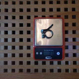 Gewicht Rotwild Sattelklemme Sattelklemme (QR) 35 mm / 90°