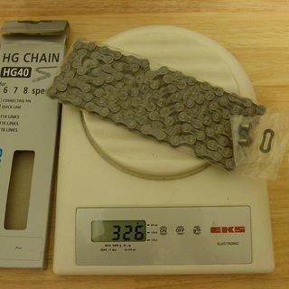Gewicht Shimano Kette CN-HG40 116 Glieder, 6/7/8-fach