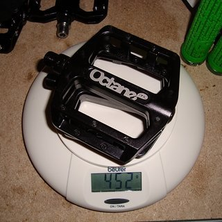 Gewicht Octane One Pedale (Platform) Static Pro 95 x 90 x 20