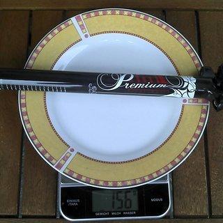 Gewicht Sunn Sattelstütze Premium Carbon 27,2 x 350mm