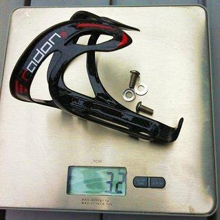 Gewicht Radon Flaschenhalter Carbon Elite