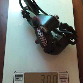 Gewicht Shimano Schaltwerk Deore RD-M510 GS Medium Cage