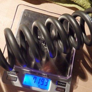 Gewicht Rock Shox Feder Vivid Stahlfeder 300x3.5