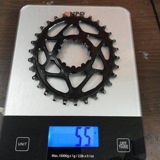 Gewicht absoluteBlack Kettenblatt Oval Boost 148mm Narrow Wide  30t