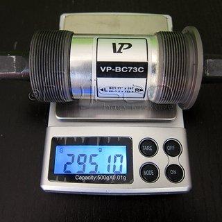 Gewicht VP Components Innenlager VP-BC73C 4-kant, 73/124.5mm, BSA