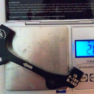 Gewicht Formula Scheibenbremsadapter Adapter IS >>> PM +20