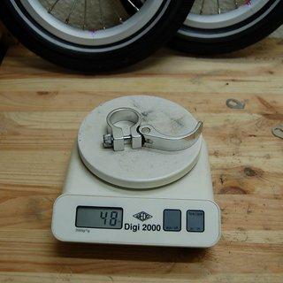 Gewicht Kokua Bikes Sattelklemme Sattelklemme (QR) 28.8mm