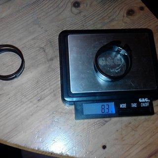 Gewicht MSC Sattelklemme Ultralight 34.9mm