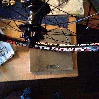 Gewicht Hope Systemlaufräder Hope 2 Pro Evo auf ZTR Flow EX Hinterrad 142 mm