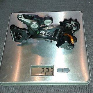 Gewicht Shimano Schaltwerk XTR RD-M9000