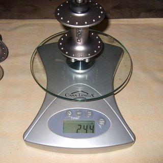 Gewicht Shimano Nabe Deore HB-M525 100mm/QR, 32-Loch