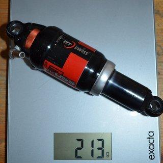 Gewicht DT Swiss Dämpfer SSd 210 165/38