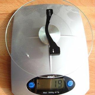 Gewicht Avid Scheibenbremsadapter Adapter PM >>> PM +25
