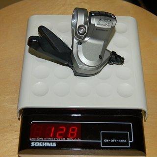 Gewicht Shimano Schalthebel LX SL-M580  9-fach