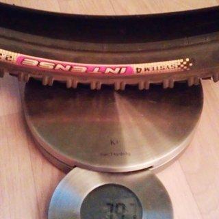 """Gewicht Intense Reifen System 4 26x2,25"""""""