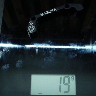 Gewicht Magura Scheibenbremsadapter Adapter QM-12 IS >>> PM +20