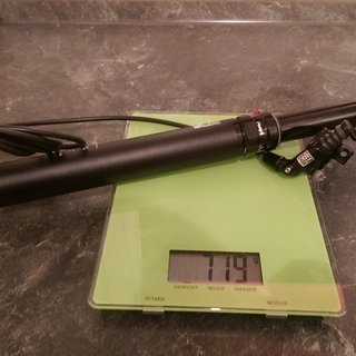 Gewicht Rock Shox Sattelstütze höhenverstellbar Reverb Stealth 150mm 34,9 x 430