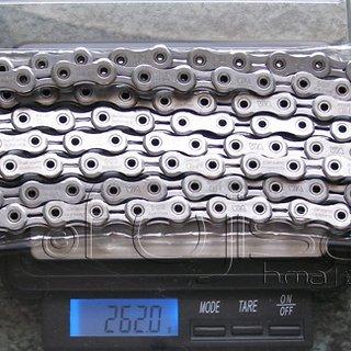 Gewicht Shimano Kette CN-7900  116 Glieder, 10-fach