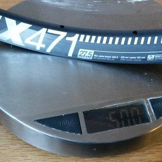 """Gewicht DT Swiss Felge EX 471 27,5"""" 650b"""