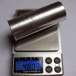 Gewicht No-Name Weiteres/Unsortiertes Reduzierhülse 30.8 > 25.4mm