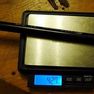 Gewicht Syntace Achse X-12 157 x 12mm