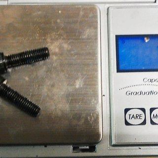 Gewicht No-Name Schrauben, Muttern zylindrische Inbusschraube M5x17.5, Stahl