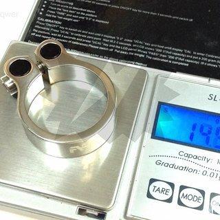 Gewicht Aest Sattelklemme STC12 31,8mm