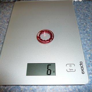 Gewicht Superstar Components Kassettenabschlussring CNC Al-Lockring 11Z