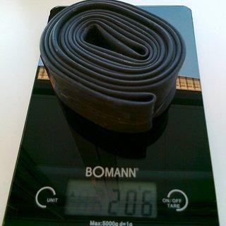 "Gewicht Schwalbe Schlauch AV 19 AV, 28x1.5-2.4"""