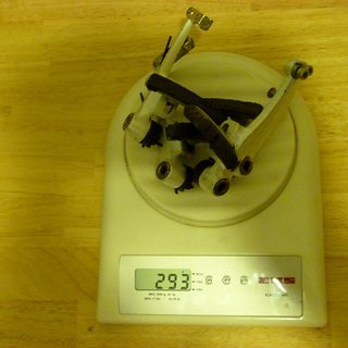 Gewicht XLC Felgenbremse Pro V-Brake Magnesium