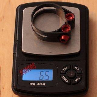 Gewicht Mcfk Sattelklemme Designklemme 30.0mm