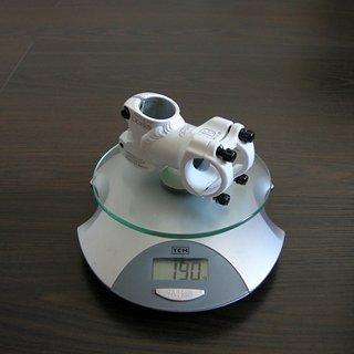 Gewicht Amoeba Vorbau Borla 31.8mm, 60mm, 10°