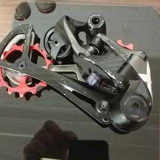 Gewicht SRAM Schaltwerk X01 Eagle mit Alu-Röllchen (Keramiklager) 12-fach
