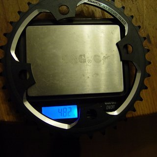 Gewicht Truvativ Kettenblatt X0 DH 104mm, 36Z