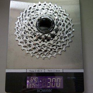 Gewicht SRAM Kassette PG-1050 10-fach, 11-32Z