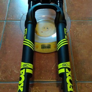 "Gewicht Fox Racing Shox Federgabel 32 Float SC Elite Performance FIT4 100mm BOOST 27,5"" 100mm 15x110"