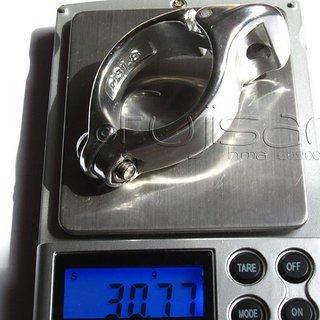 Gewicht Shimano Weiteres/Unsortiertes Umwerferschelle SM-AD11 (Alu) 31.8mm