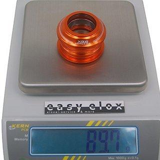 "Gewicht Aerozine Steuersatz XH808A semi integr. 1 1/8"""