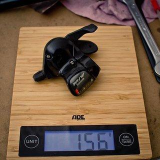 Gewicht Shimano Schalthebel Alfine SL-500 8-fach