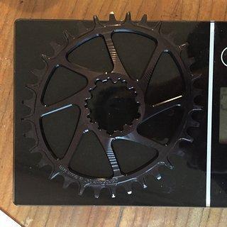 Gewicht Garbaruk Kettenblatt Kattenblatt Oval Sram Direct Mount for Shimano HG+ Chain 34