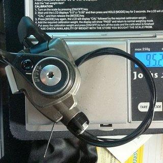 Gewicht SRAM Schalthebel XX Trigger 10-fach