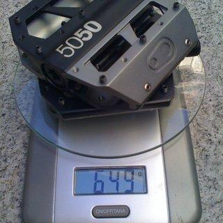 Gewicht Crank Brothers Pedale (Platform) 5050 X