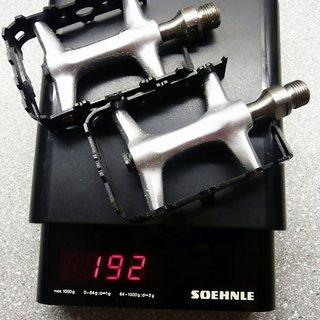 Gewicht Steinbach Bike Pedale (Platform) Plattformpedal (Ti) 100x60x24mm