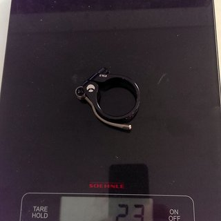 Gewicht Carbon Ti Sattelklemme X-Clamp QR EVO 34.9mm