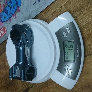 Gewicht Hope Vorbau XC/FR Stem 31.8mm, 90mm, 10°
