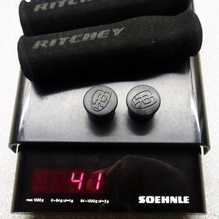 Gewicht Ritchey Griffe True Grip WCS Ergo 125mm