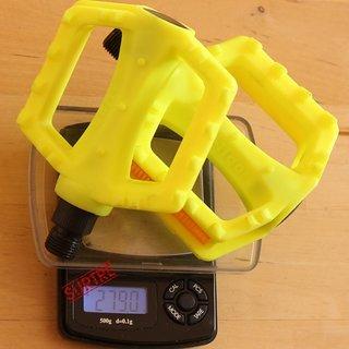 Gewicht Wellgo Pedale (Platform) LU-968 95.5x81.5x29.5 mm