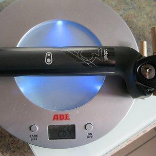 Gewicht Crank Brothers Sattelstütze Cobalt 3 31,6 x 400mm